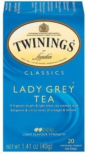 Twinings Lady Grey is sooooo yummy and comforting.