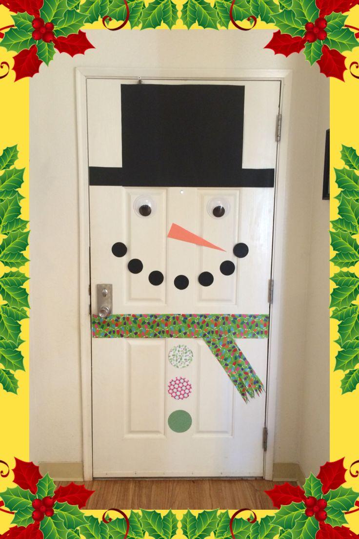 1000 Ideas About Snowman Door On Pinterest Door Hangers