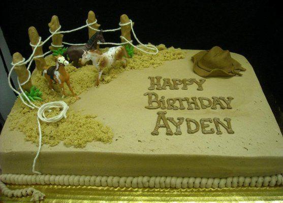 Rodeo Cake Birthday
