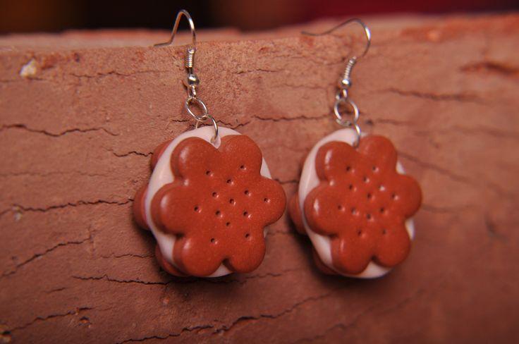 earrings. polymerclay. handmade