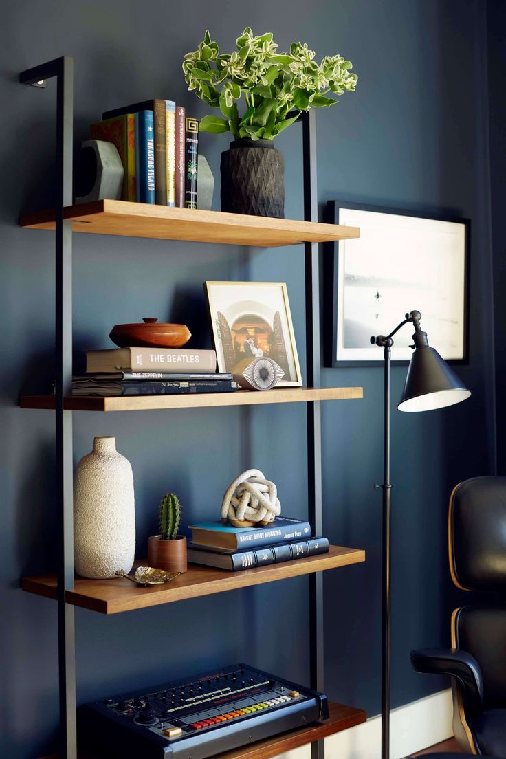 ideas shelving ideas masculine office decor modern office decor home