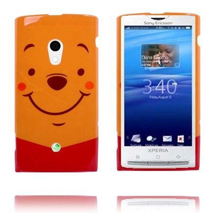 Happy Cartoon (Oransje) Sony Ericsson Xperia X10 Deksel