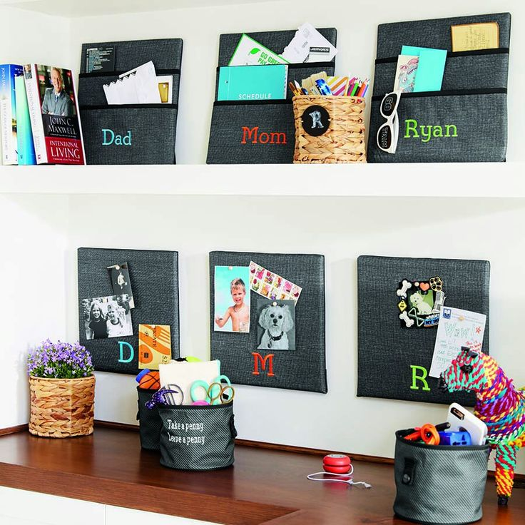 Thirty-One Wall Together Pocket Board and Wall Together Pinboard #Organization #office www.mythirtyone.com/apeterson86