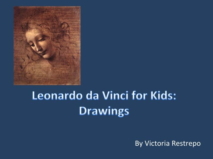 No other painter in history produced as many drawings a Leonardo da Vinci. He made his sketches not only in the studio, but he went to the streets and the countryside, and he sketched from real life.