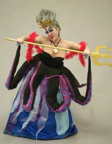 Ursula Costume by Morgan Hill