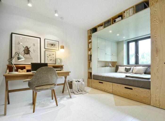 Детская комната в эко-стиле.