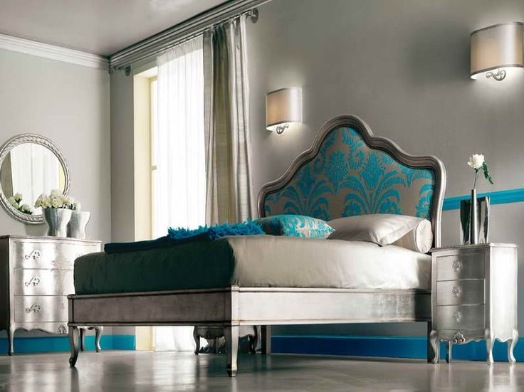 Turquoise+and+silver+painted+furniture | Turquoise Also Brown