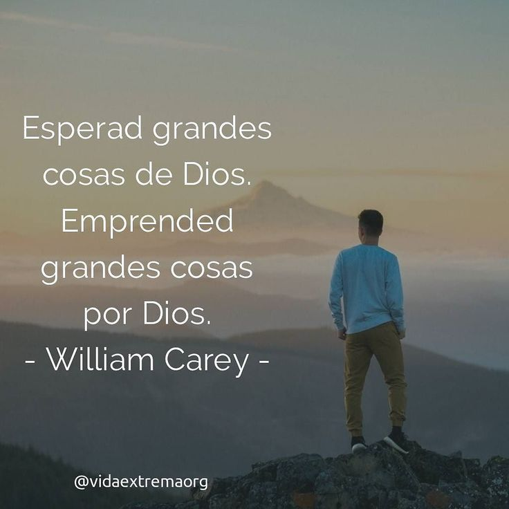 Les comparto esta excelente frase de William Carey. Quien es conocido como el padre de las misiones modernas. #Misionero #Cristianos #Predicación #Fe Imágenes cristianas gratis