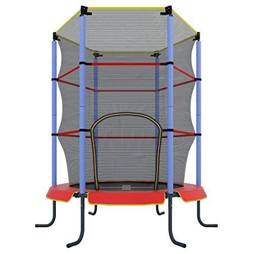 Ultrasport Jumper cama elástica interior niños por 78,39 €  La red de #seguridad evita las #caídas y el acolchado de los postes aporta una mayor seguridad. La robusta #cremallera facilita que se pueda subir #cómodamente.   #chollos #deportes #ocio #ofertas
