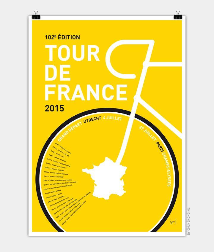 Tour de France 2015 Poster chungkong.nl