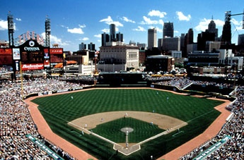 Detroit Tigers at Comerica Park...I know not Canada but will be same trip