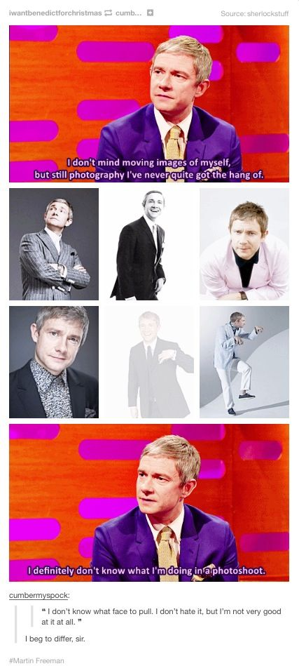 Martin Freeman on Graham Norton