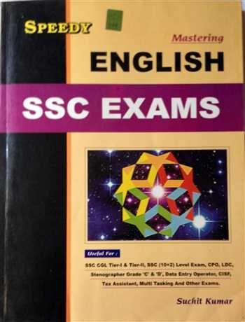 Book for SSC English ( for All SSC Exams) By Speedy Publication @ http://mybookistaan.com/books/competitive-exams-books/ssc-exam-books