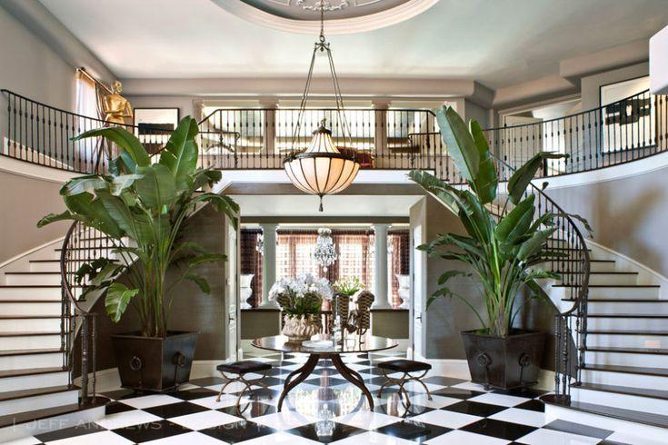 Dentro Glorioso Reestruturado Los Angeles Mansion de Kris Jenner