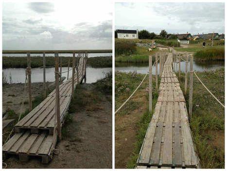 Pallets Bridge | 1001 Pallets ideas ! | Scoop.it