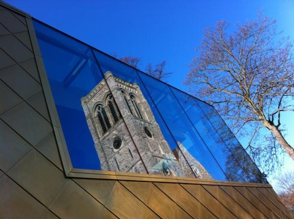 Old and new! Photo by Chris Cantrelle.: Photo