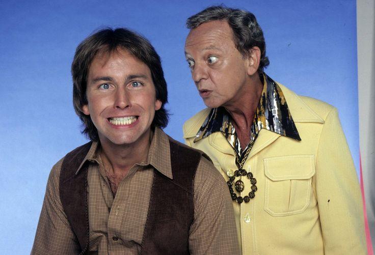 John Ritter and Don Knotts in Three's Company (1976)