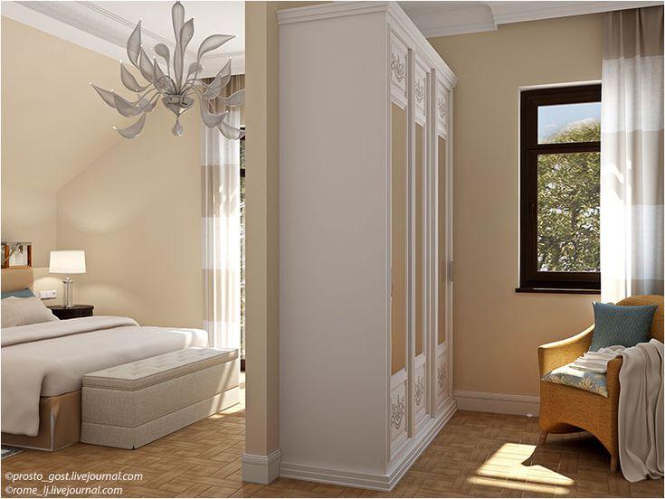идея планировки спальни