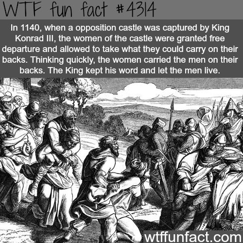 The most interesting event in history -  WTF fun facts