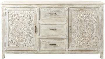Chennai Dresser - Wooden Dresser - Solid Wood Dresser - 3-drawer Dresser | HomeDecorators.com