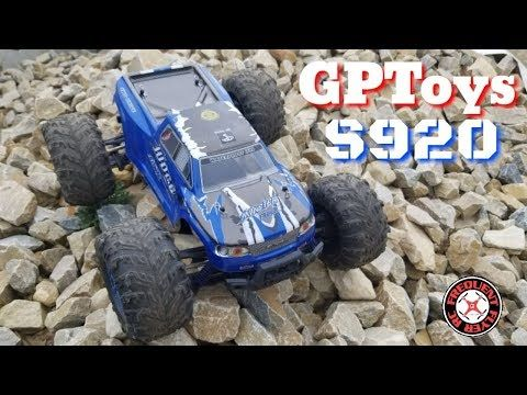 GPTOYS Judge Extreme S920 4WD Off-Road RC Truck | Drone