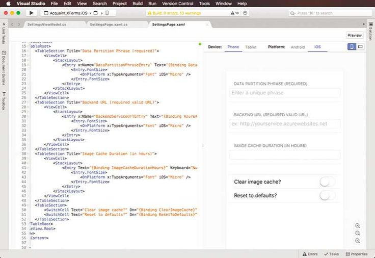 Microsoft Visual Studio for Mac announced