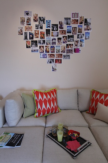 cute photo display for the people you love