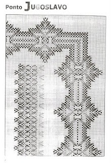 Ponto/Swedish Weaving Pattern Diagram