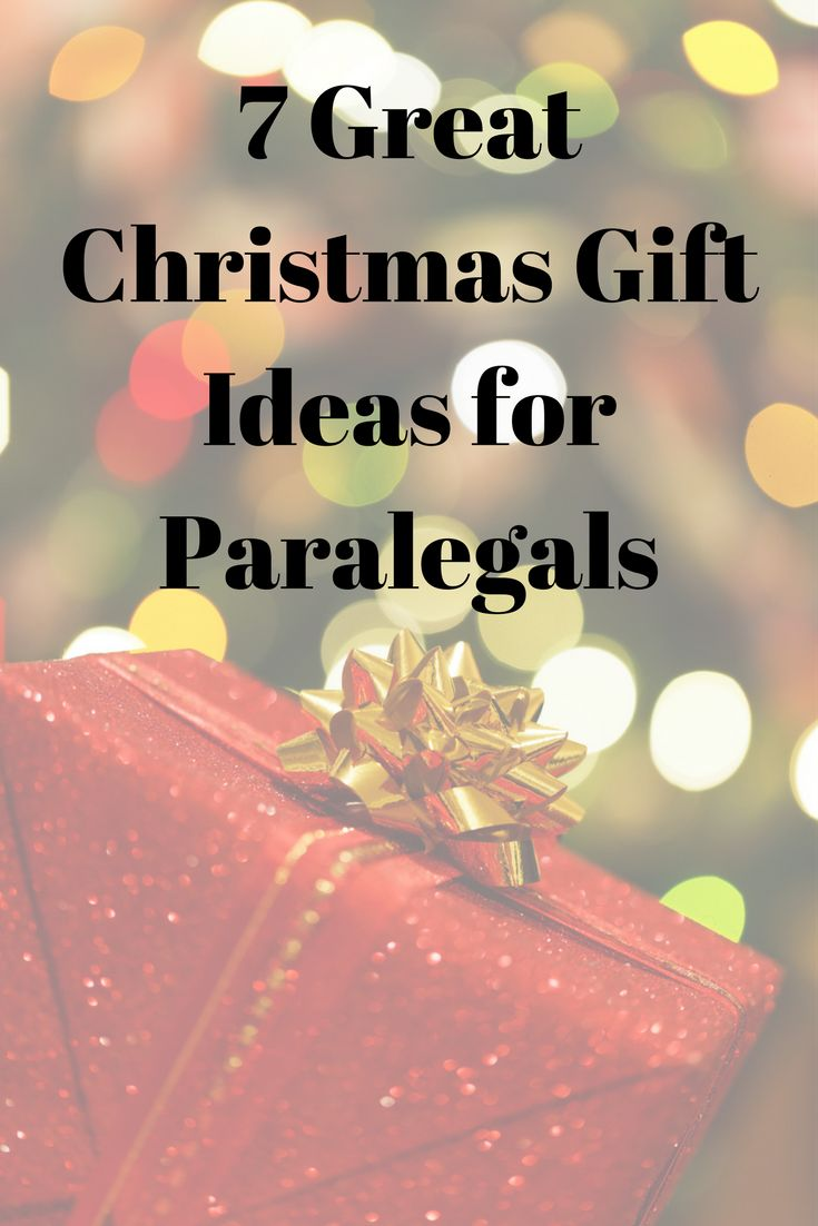 7 Great Paralegal Gift ideas for co workers