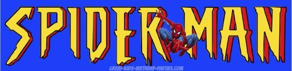 Free Superhero Printables - Spider-Man font, superhero fonts.
