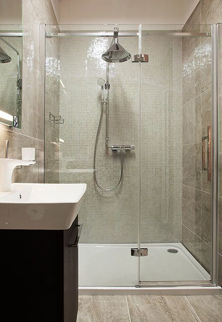 Hansgrohe Axor thermostatic shower TileStyle bathroom showroom, Dublin