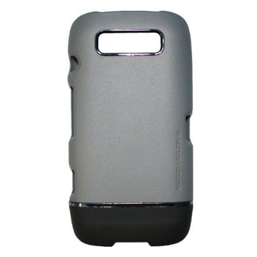 New Body Glove Icon Case for Blackberry Torch - Grey & Black