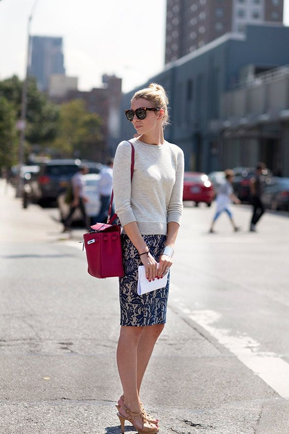 lovely outfit, I'd even bother painting my fingernails for this look: Sweaters, Fashion, Style, Teacher Clothing, Pencil Skirts, Offices Outfits, Work Outfits, Lace Skirt, Offices Chic