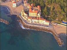 foto ripresa  dall'alto di Palazzo Belmonte