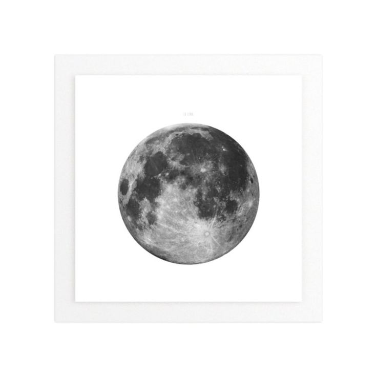"""""""La Luna"""" - Art Print by Keri Chubb in beautiful frame options and a variety of sizes."""