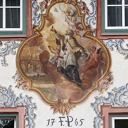 #Handwerkskunst an Außenfassade des Gasthof #WalchseerHof am #Walchsee