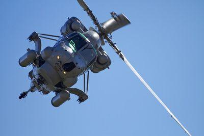 Seasprite Helicopter (Kaman SH 2G Seasprite) Airshow