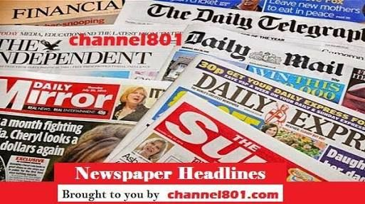 Make 9ja Better: Nigerian newspapers: 10 things you need to know th...