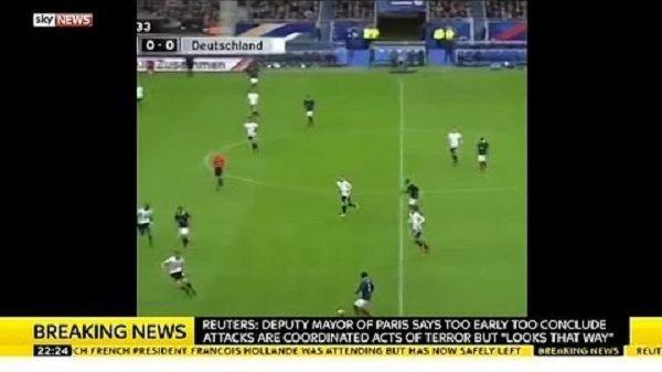 Wybuch bomby podczas meczu towarzyskiego w piłce nożnej • Francja vs Niemcy • Kolejny atak terrorystyczny we Francji • Zobacz >> #football #soccer #sports #pilkanozna