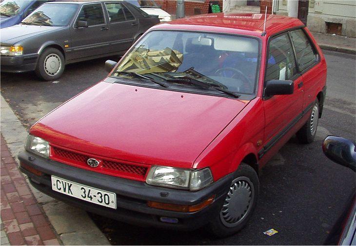 Subaru Justy 1200 ECVT