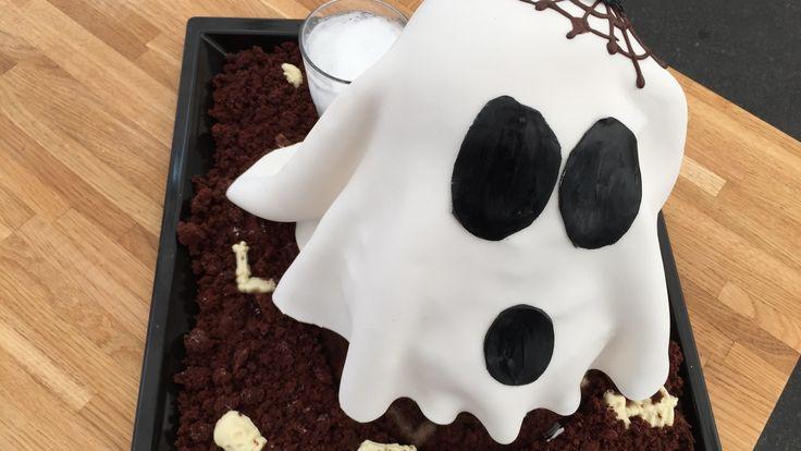 Halloweenkage - Spøgelset    Den store Bagedyst 2016