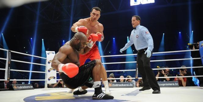 #boxe : klitschko vs mormeck - ko