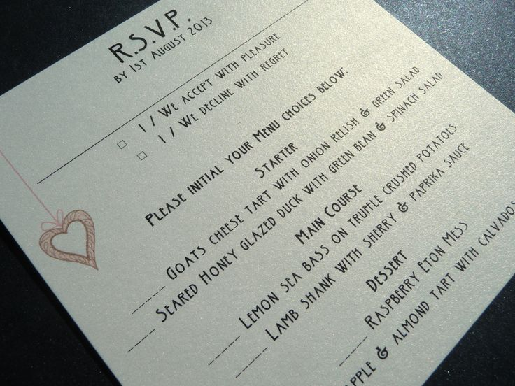 25 best images about rsvp on Pinterest   Initials, Cards and Invitations