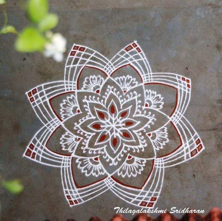 Wedding Kolam Images: Pin By Thilagalakshmi Sridharan On FREEHAND KOLAM