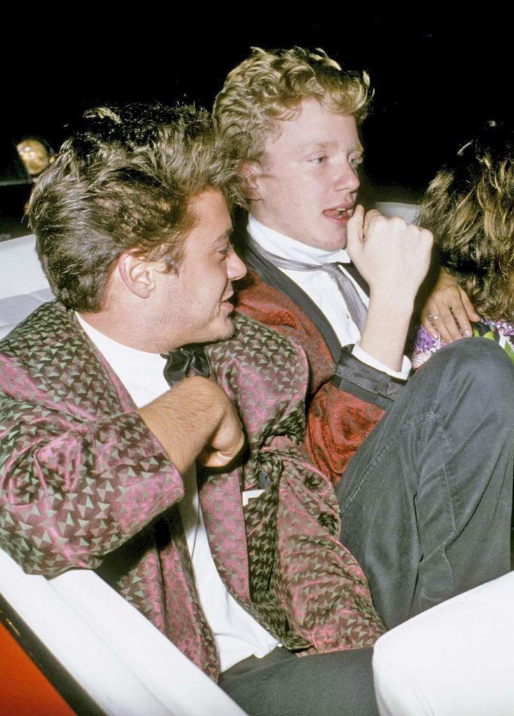 Robert Downey Jr. & Anthony Michael Hall