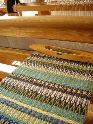 日替わりローゼンゴン : スウェーデン織のアトリエから