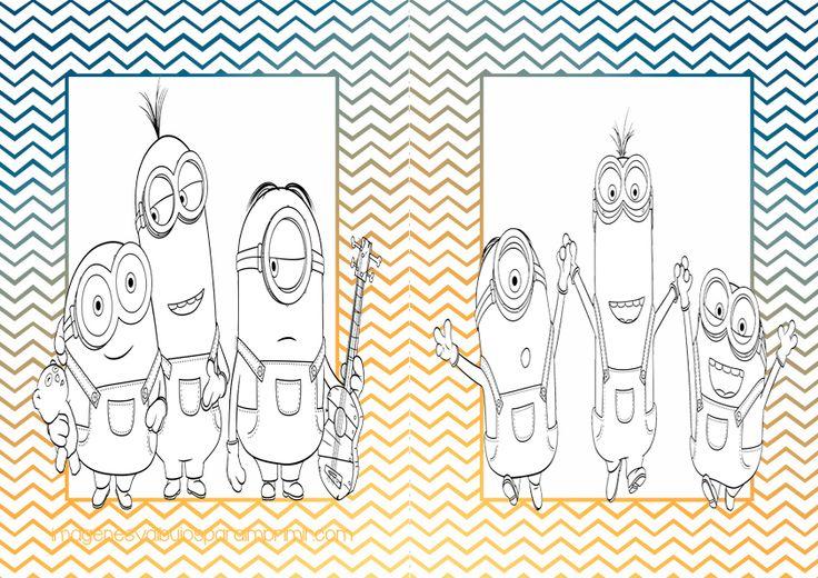 Dibujos Para Colorear De Libro Y Libreta: 15 Mejores Imágenes De Imprimibles Gratis En Pinterest