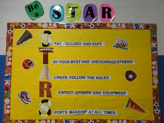 Be a Star in Physical Education (Rules) Image