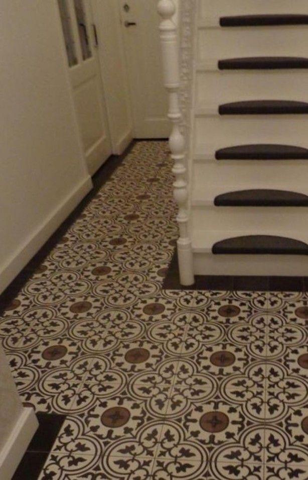 25 beste idee n over spaanse tegelvloeren op pinterest - Betegelde rode badkamer ...