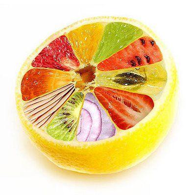 funny absurd: fruit manipulation